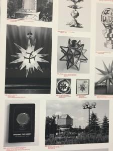 Raphaël Zarka, Catalogue raisonné des rhombicuboctaèdre quatrième édition), 2016, impression jet d'encre 450x900 cm, détail