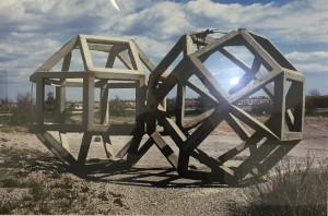 Raphäel Zarka, Les formes du repos n°1, tirage Lightjet, 70x100cm,(cadre supprimé, reflets sur le verre de l'oeuvre de Froment, Balance des blancs.