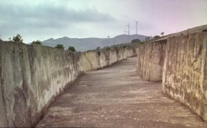Raphaël Zarka, Gibellina vecchia, film, 11',capture d'écran