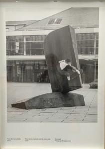 Raphaël Zarka, une image de la série Riding Modeern Art, imression à encre pigmentaire, chacune 50x70cm