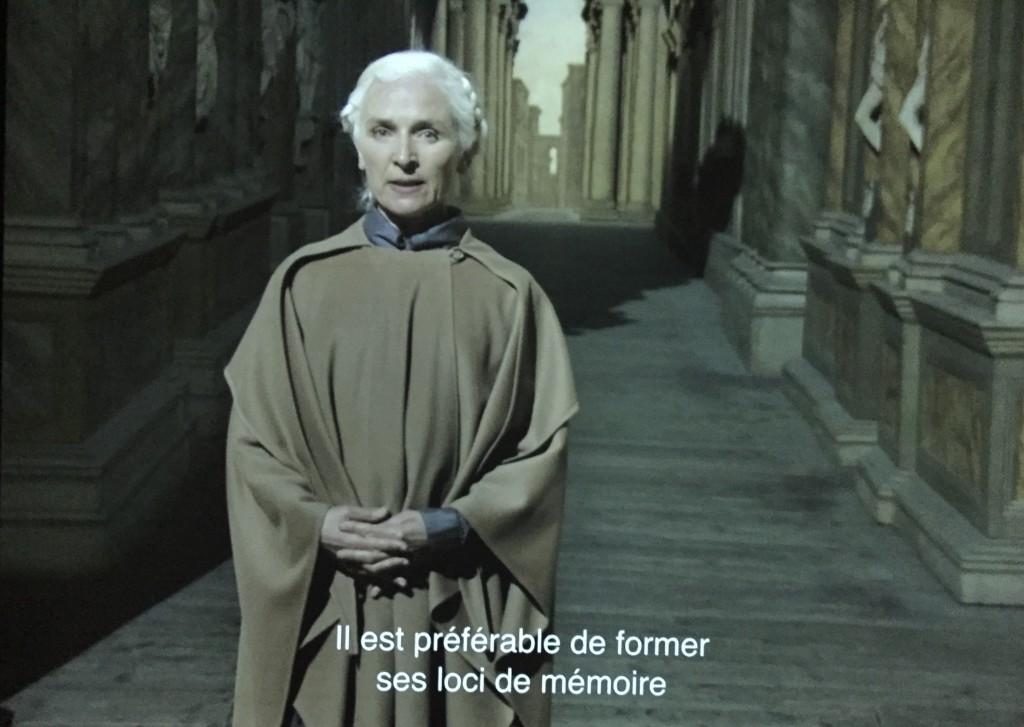 aurélien Froment, seconde projection vidéo, Avec Olwen Fouéré, 19'10''