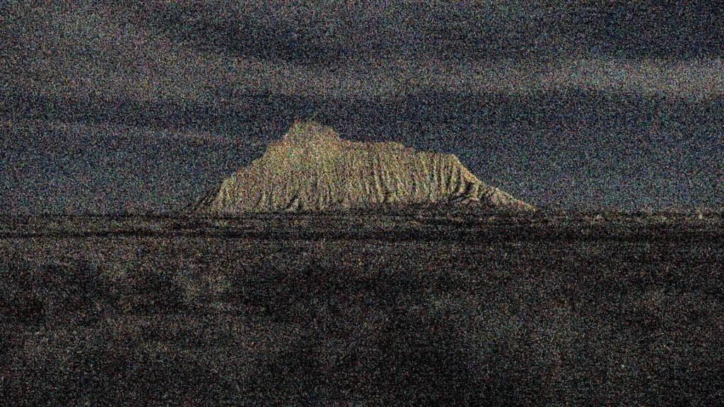Anne-Charlotte Finel, Military Mountain, 2016,boucle vidéo HD,couleur, musique de Luc Khermarand