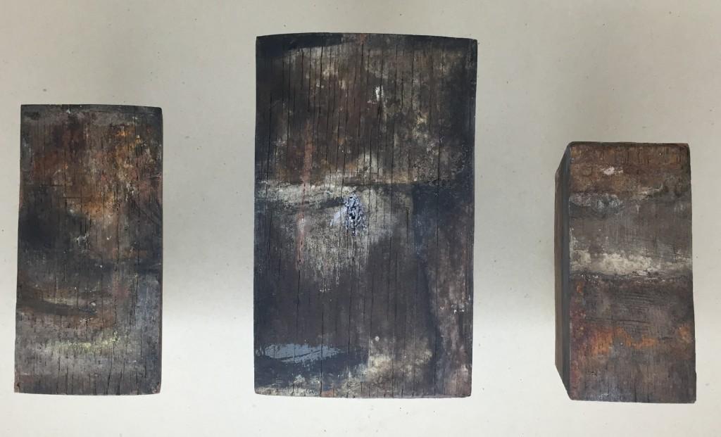Theatrini, 3 douelles de foudre, détail