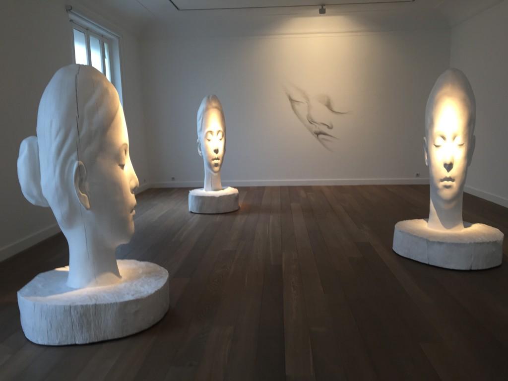 La forêt blanche, galerie Lelong, 2015