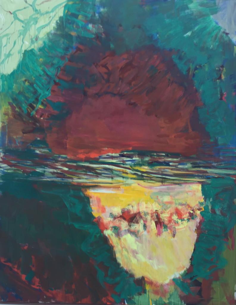 Per Kirkeby, Untitled, h/t, 180 x140 cm