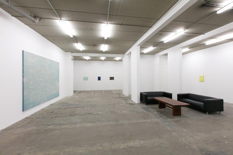 Vue de l'exposition la véranda galerie Laurent Godin, 2018