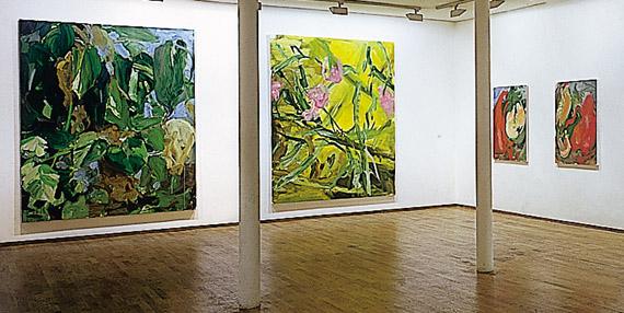 Exposition Gérard Traquandi, Galerie Templon