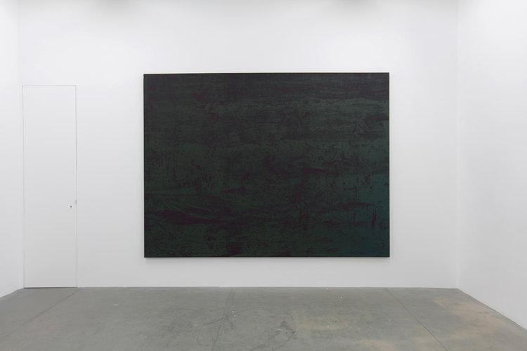 Sans titre, 2017, h/t,225 x3 00 cm