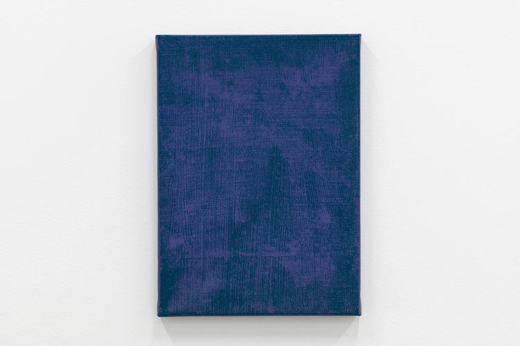 Sans titre, 22018, h/t, 46 x 33,5 cm