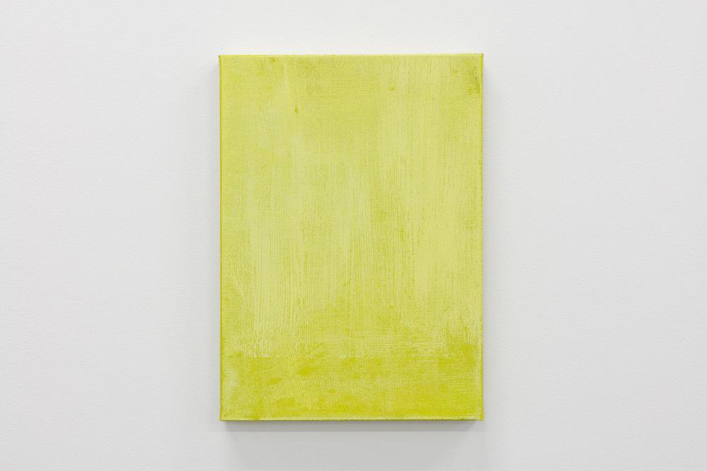 Sans titre, 2018, h/t, 46 x33 cm